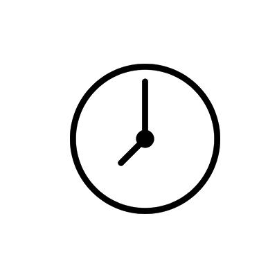 Uhr für die schnelle Bearbeitung von Mikrokrediten